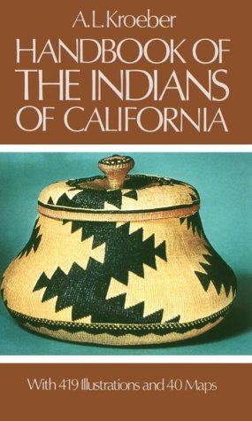 Handbook of the Indians of California   1976 edition cover