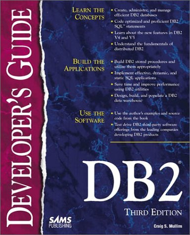 Db2 Developer's Guide  3rd 1997 9780672311680 Front Cover