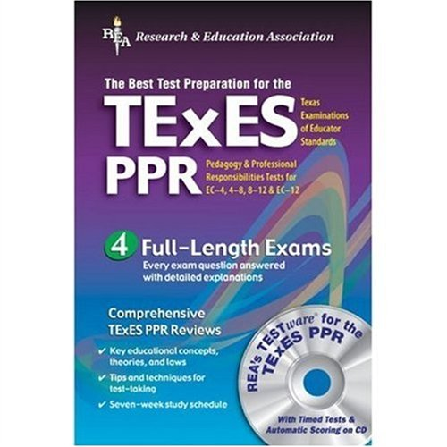 TExES PPR (REA) The Best Test Prep for the Texas Exam of Educator Stds N/A edition cover