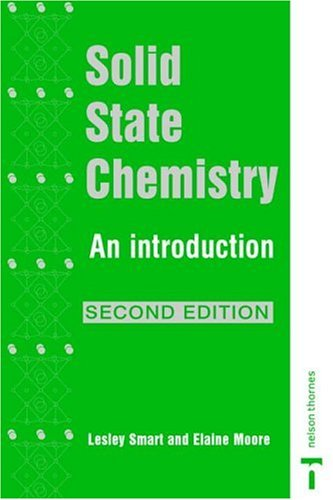 Solid State Chemistry An Introduction 2nd 1995 (Revised) 9780748740680 Front Cover