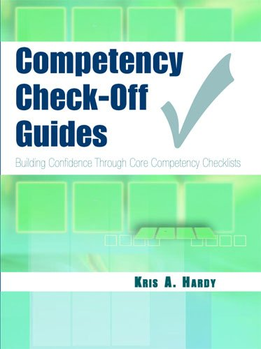 Competency Check-Off Guides Building Confidence Through Core Competency Checklists  2006 edition cover