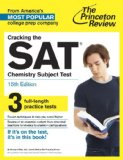 Cracking the SAT Chemistry Subject Test  15th edition cover