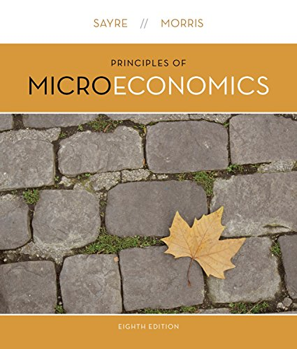 Principles of Microeconomics  8th 2015 9781259030680 Front Cover