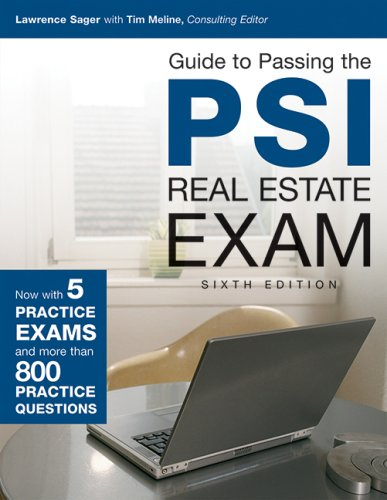 Guide to Passing the PSI Real Estate Exam, 6th Edition  6th (Revised) edition cover