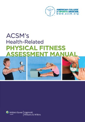 ACSM's Health-Related Physical Fitness Assessment Manual  4th 2014 (Revised) edition cover