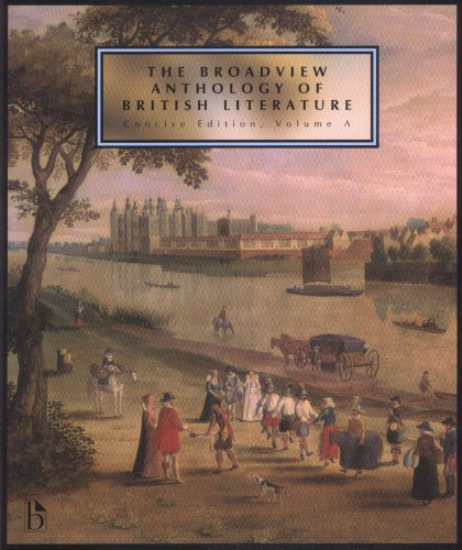 Broadview Anthology of British Literature   2007 edition cover