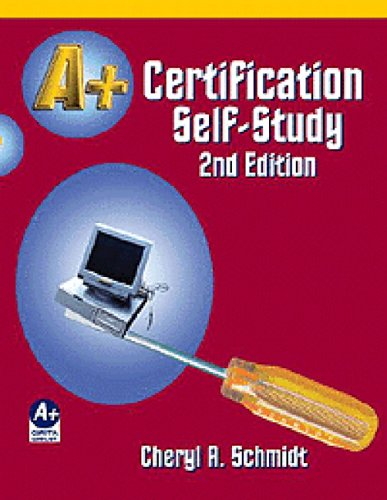 A+ Certification Self-Study Guide 2nd 2002 9781576760680 Front Cover