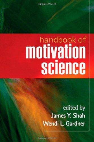 Handbook of Motivation Science   2008 edition cover
