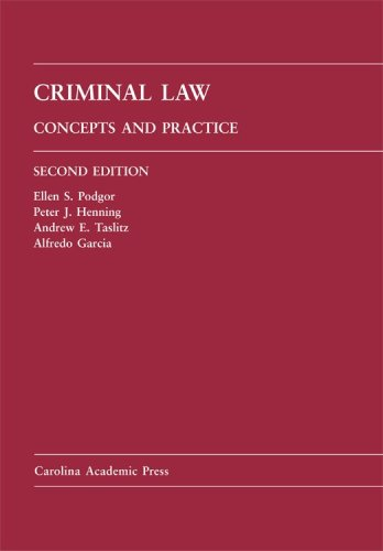 Criminal Law Concepts and Practice 2nd 2008 edition cover