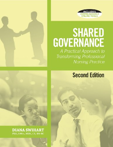 Shared Governance A Practical Approach to Transform Professional Nursing Practice 2nd 2011 edition cover