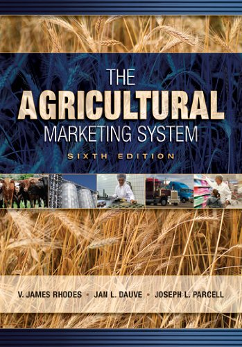 Agricultural Marketing System  6th 2007 (Revised) edition cover