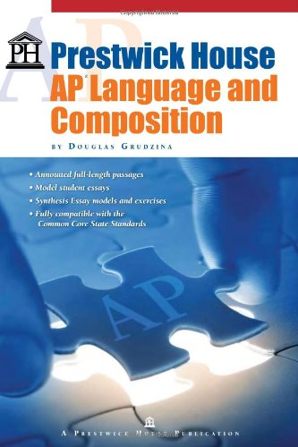 Prestwick House AP Language and Composition  2010 edition cover