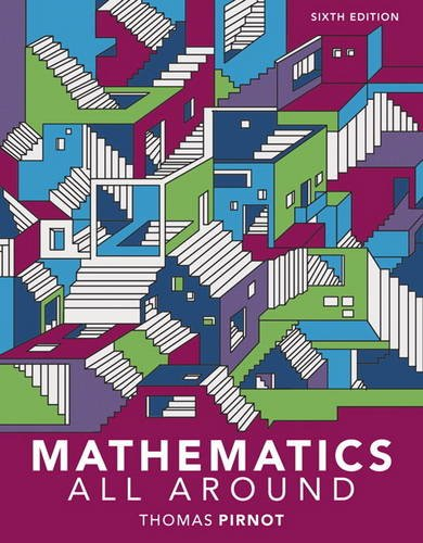 Mathematics All Around:   2017 9780134434681 Front Cover