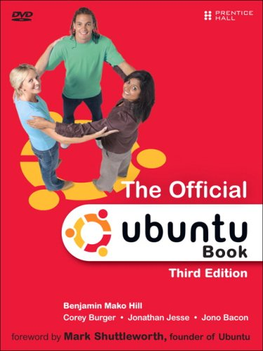 Official Ubuntu  3rd 2009 edition cover