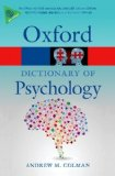Dictionary of Psychology  4th 2015 edition cover