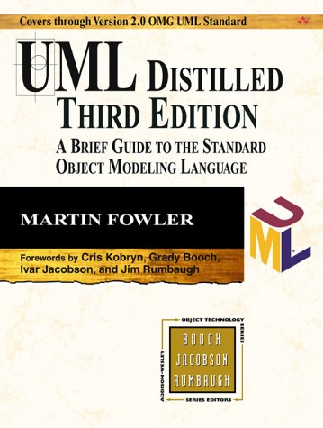 UML Distilled A Brief Guide to the Standard Object Modeling Language 3rd 2004 (Revised) edition cover