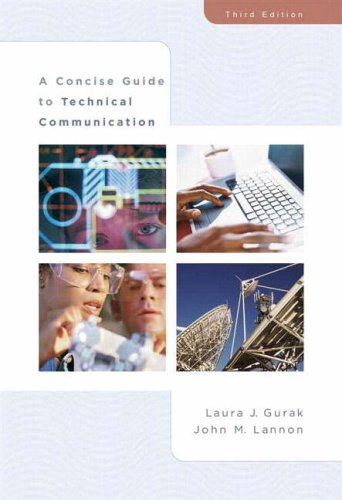 Concise Guide to Technical Communication  3rd 2007 (Revised) edition cover