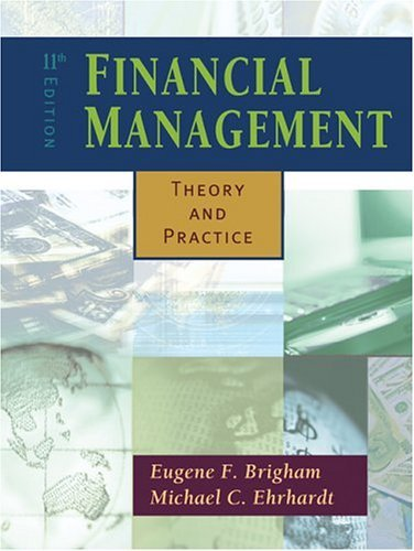 Financial Management Theory and Practice with Thomson ONE 11th 2005 edition cover