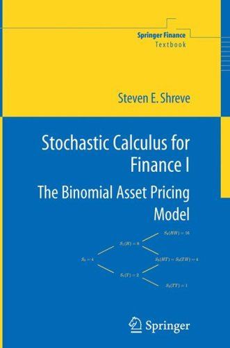 Stochastic Calculus for Finance I The Binomial Asset Pricing Model  2004 edition cover