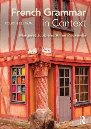 French Grammar in Context  4th 2014 (Revised) edition cover