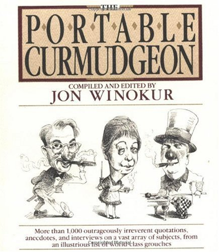 Portable Curmudgeon  Reprint  edition cover