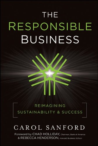 Responsible Business Reimagining Sustainability and Success  2011 edition cover