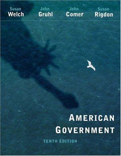 American Government  10th 2006 (Revised) 9780534647681 Front Cover
