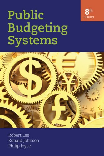 Public Budgeting Systems  8th 2008 (Revised) edition cover