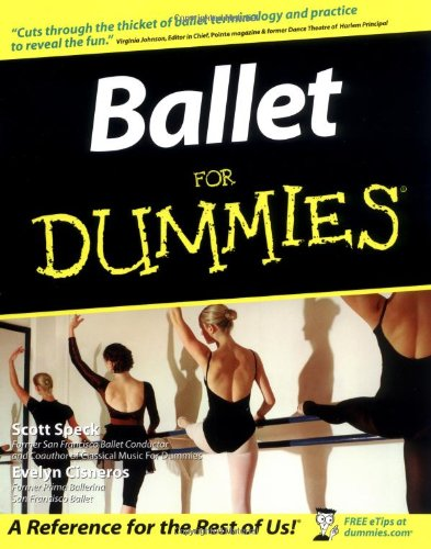 Ballet for Dummies�   2003 (Revised) edition cover