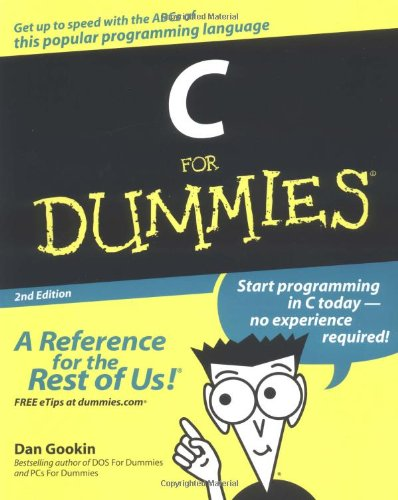 C for Dummies  2nd 2004 (Revised) edition cover