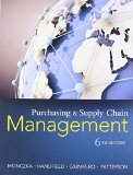 Purchasing and Supply Chain Management:   2015 9781285869681 Front Cover