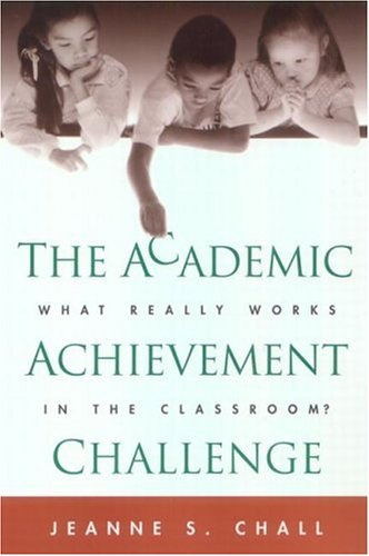 Academic Achievement Challenge What Really Works in the Classroom?  2000 9781572307681 Front Cover