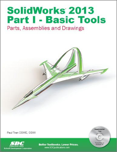 SolidWorks 2013 Part I - Basic Tools  N/A edition cover