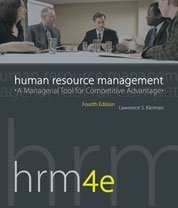 Human Resource Management : A Managerial Tool for Competitive Advantage 4th 2006 edition cover