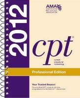 CPT Professional 2012 (Spiralbound)   2011 edition cover