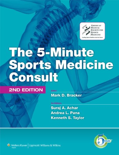 5-Minute Sports Medicine Consult  2nd 2011 (Revised) edition cover