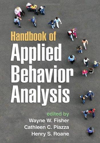 Handbook of Applied Behavior Analysis   2011 edition cover