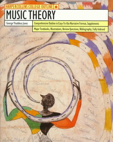 HarperCollins College Outline Music Theory  2nd edition cover