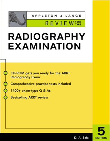 Appleton and Lange Review for the Radiography Exam  5th 2003 edition cover