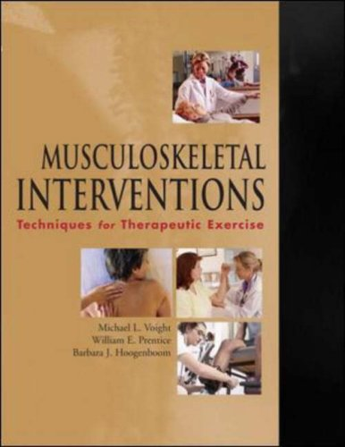 Musculoskeletal Interventions Techniques for Therapeutic Exercise  2007 edition cover
