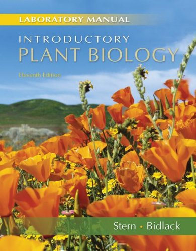 Introductory Plant Biology  11th 2008 (Lab Manual) edition cover