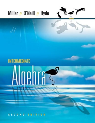 Intermediate Algebra  2nd 2008 edition cover