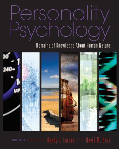 Personality Psychology Domains of Knowledge about Human Nature 4th 2010 edition cover