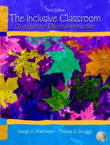 Inclusive Classroom Strategies for Effective Instruction 3rd 2007 (Revised) edition cover
