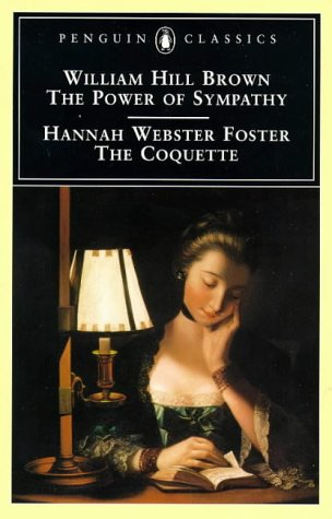 Power of Sympathy and the Coquette   1997 edition cover
