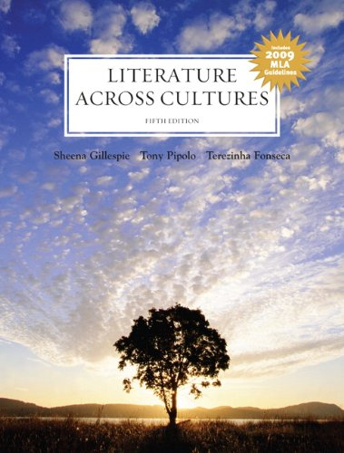 Literature Across Cultures 2009 MLA Update 5th 2008 edition cover