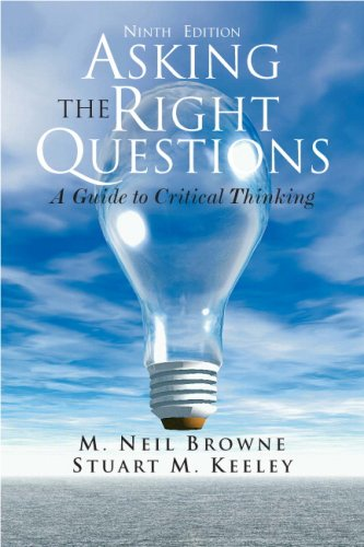 Asking the Right Questions  9th 2010 edition cover