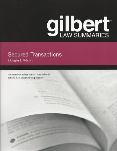 Gilbert Law Summaries on Secured Transactions, 13th  13th 2013 (Revised) edition cover