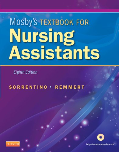 Mosby's Textbook for Nursing Assistants - Hard Cover Version  8th 2012 edition cover