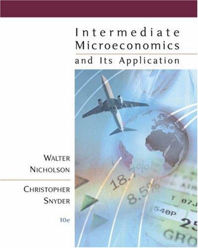 Pkg Intermediate Microeconomics+Econapps + Infotrac  10th 2007 edition cover